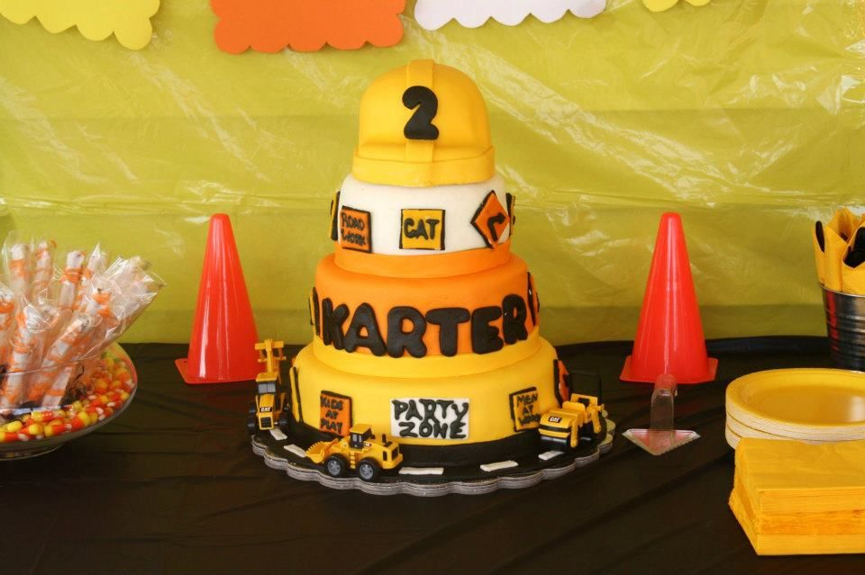 Karters 2nd Birthday Cake
