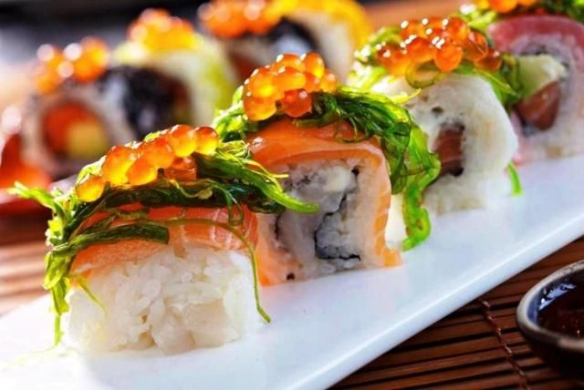 Sushi with tons of goodness!