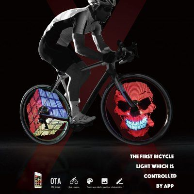 Xuanwheel X1 Colorful Bicycle Wheel Spoke Light Bicycle Bike
