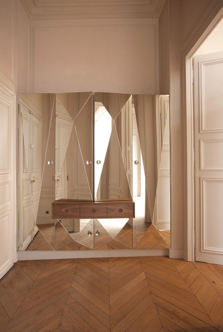 roberta molteni studio / armoire dessiné et réalisé pour l'entrée de l'appartement yp, 6ème