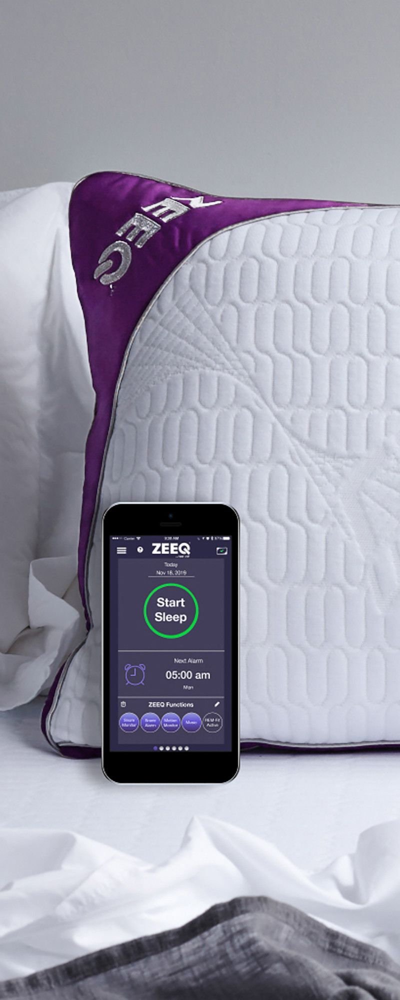 Build better sleep habits with this pillow. Inside comfy