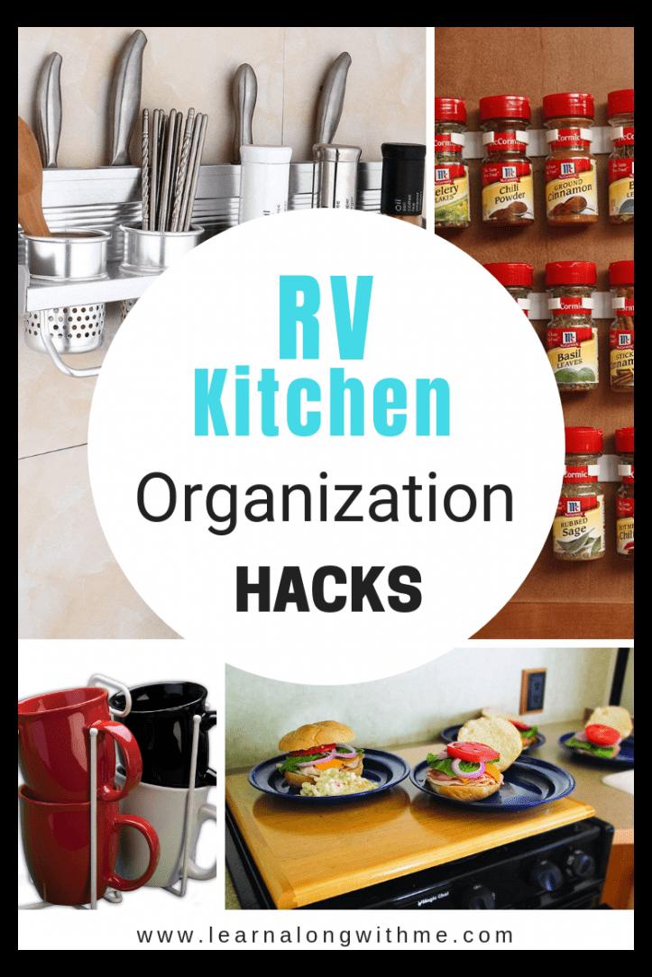 RV Organization Hacks and Storage Ideas to Destroy Clutter #organizationhacks