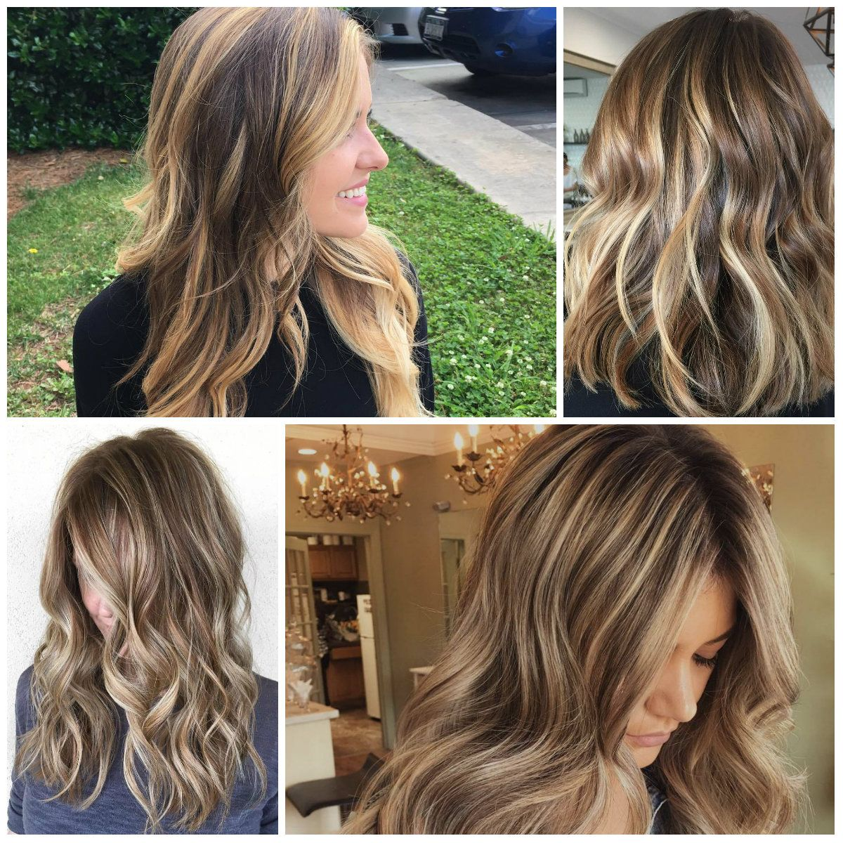 Best Brown Hair Colors With Highlights For 2017 Beauty Pinterest