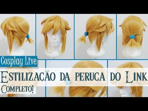 Cosplay Live Estilizacao Da Peruca Do Link De Breath Of The