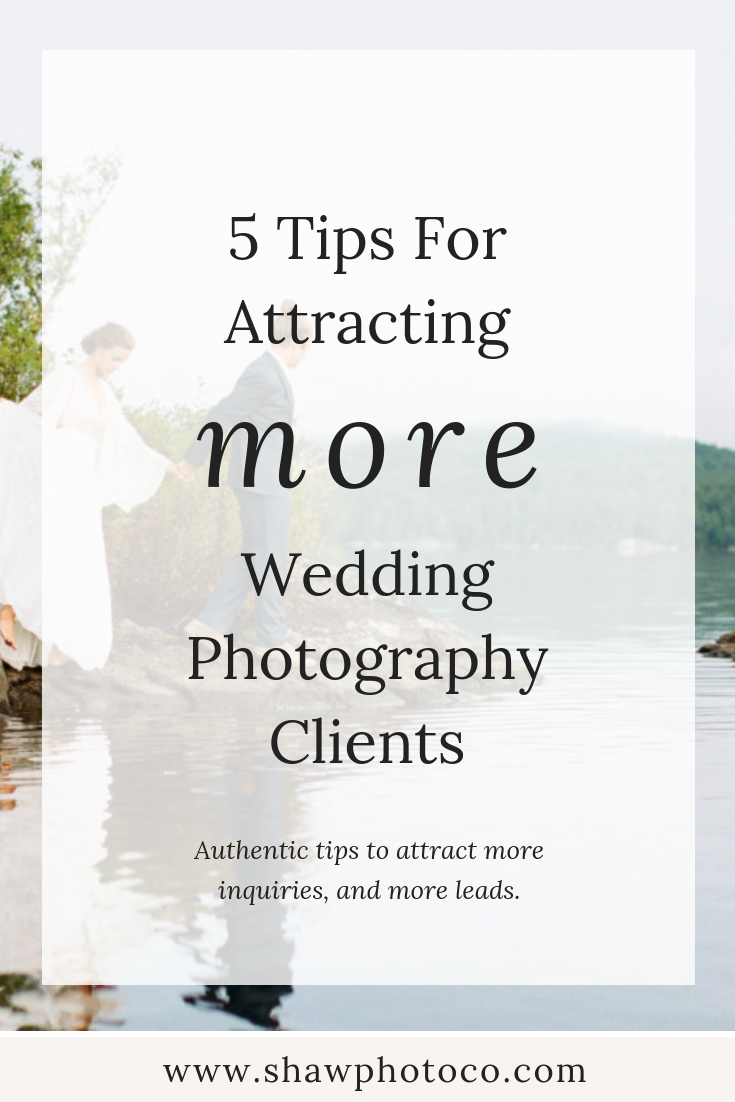 How to get more wedding clients