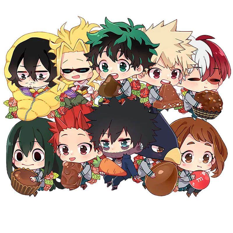 My Hero Academia Keychain Cosplay Acrylic Pendant Keyring Anime Collection New Anime Anime Christmas Hero