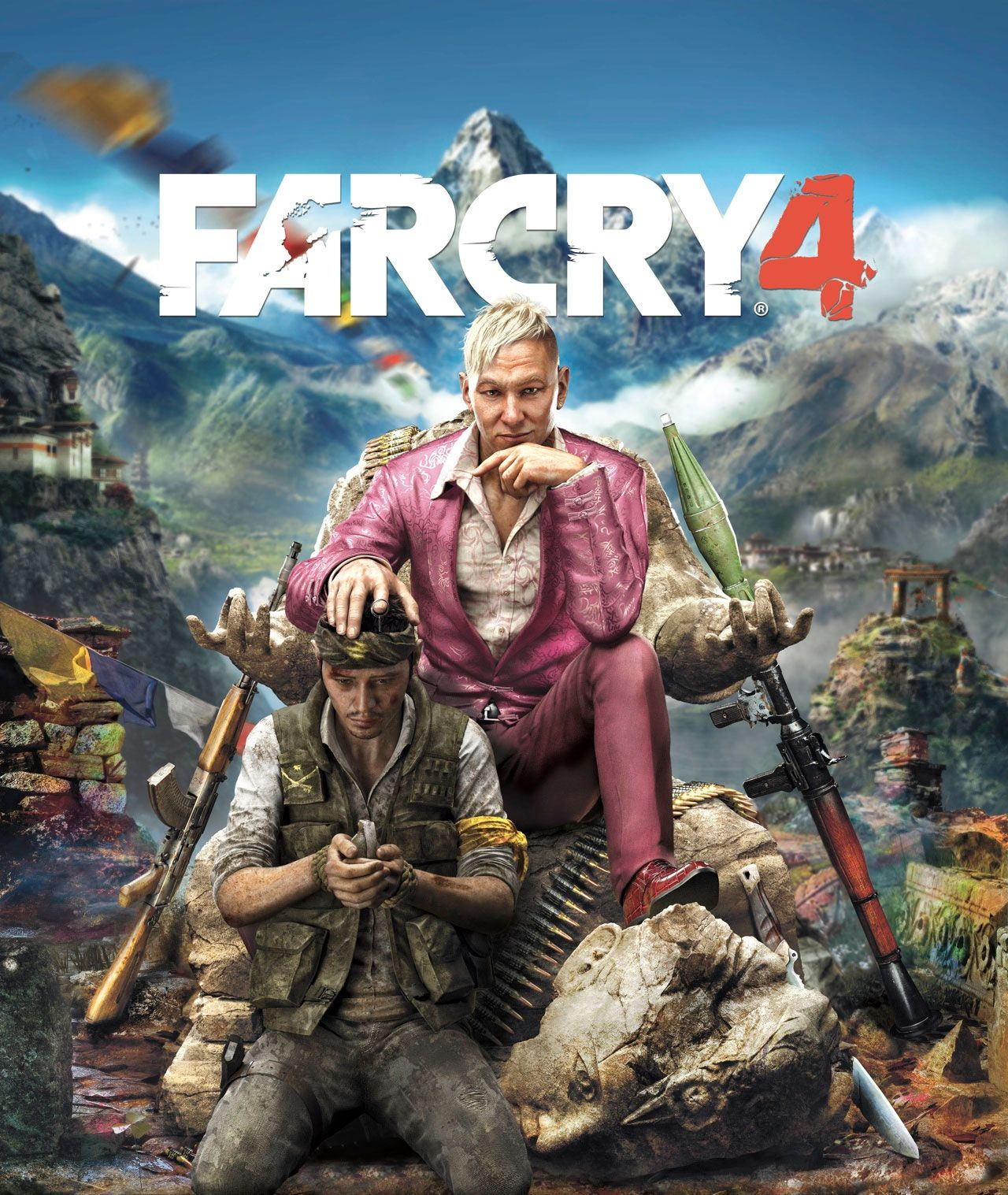 Game Cover Farcry 4 Far Cry 4 Xbox One Games Ps4 Or Xbox One