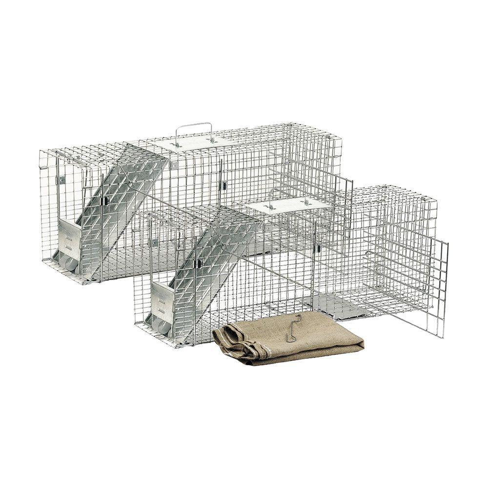 Havahart Feral Cat Trap Rescue Kit 2 Pack CATS