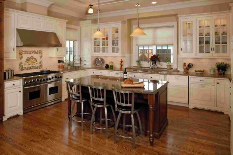 French Country Kitchen Tables With Iron Chair Design Dream house - French Country Kitchens