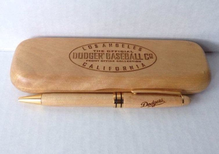 1996 MLB Los Angeles Dodgers Pen In Wooden Case Dodger Co LA California #LosAngelesDodgers