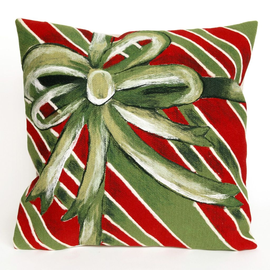 Liora Manne Visions III Gift Box Indoor Outdoor Throw Pillow ...