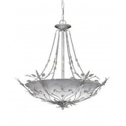 Crystorama 6 Light crystal Chandelier - 4700