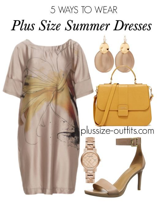 6b146bdf11ab 5 brown plus size summer dresses that will flatter your curves - plus size  fashion for women