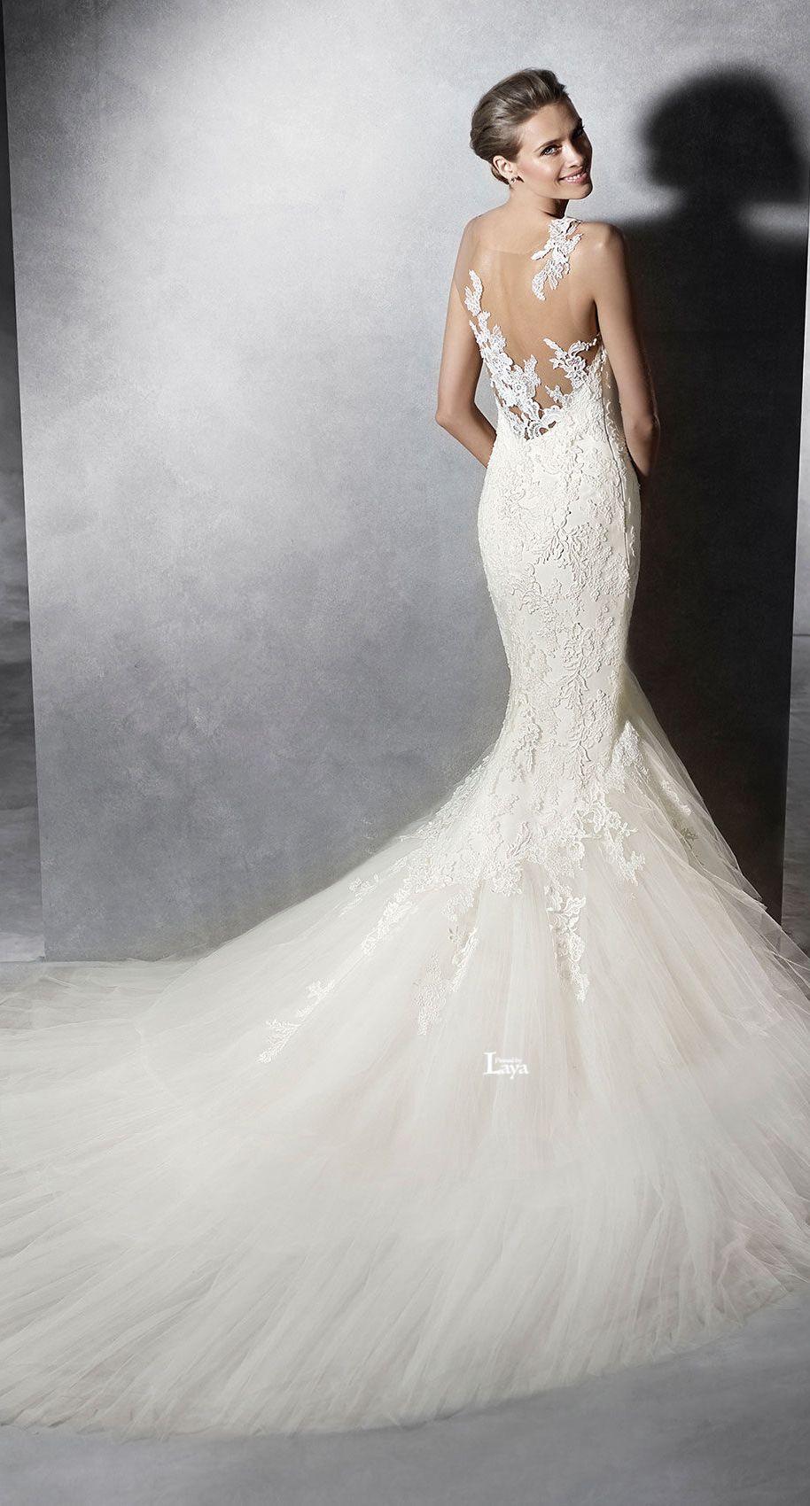 Dresses for summer wedding reception  LAYAAVANCE PRONOVIAS  BRIDAL  Daughters Wedding