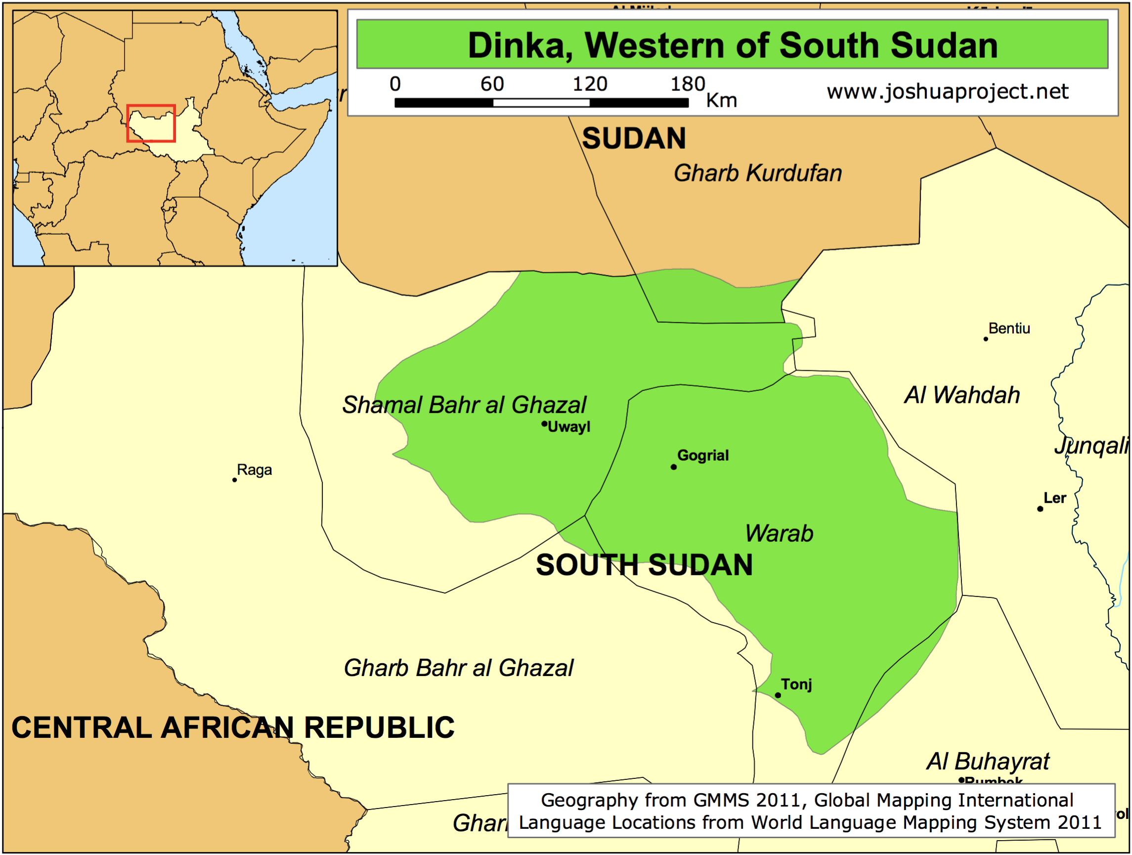 DINKA territory, South Sudan. | Africa - in maps | Pinterest ...