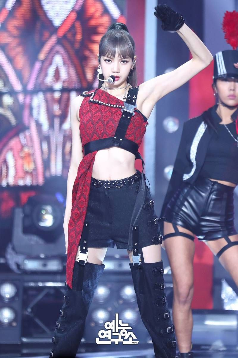 190406 Blackpink Kill This Love Don T Know What To Do At Music Core Blackpink Fashion Blackpink Kpop Outfits