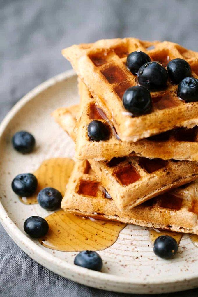 EASY Vegan Waffles - Light & Crispy - The Simple Veganista