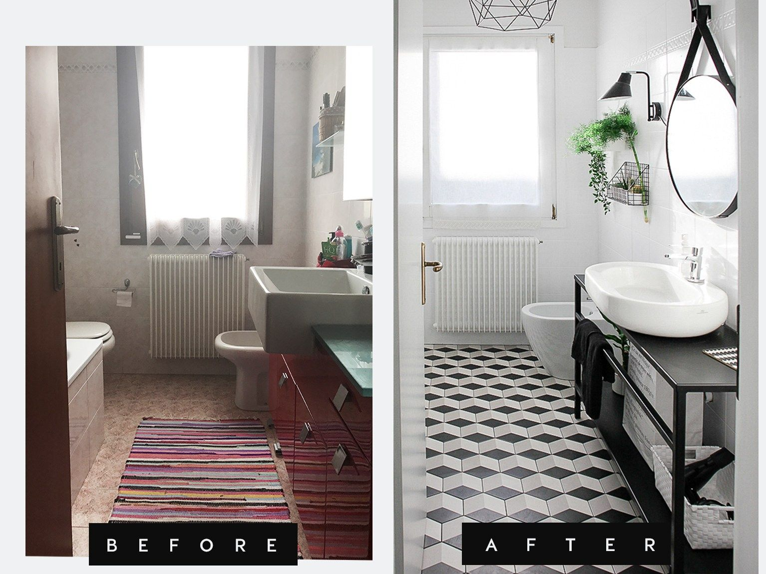Myhomerestyling  Small Bathroom Cool Before And After Small Bathrooms Inspiration
