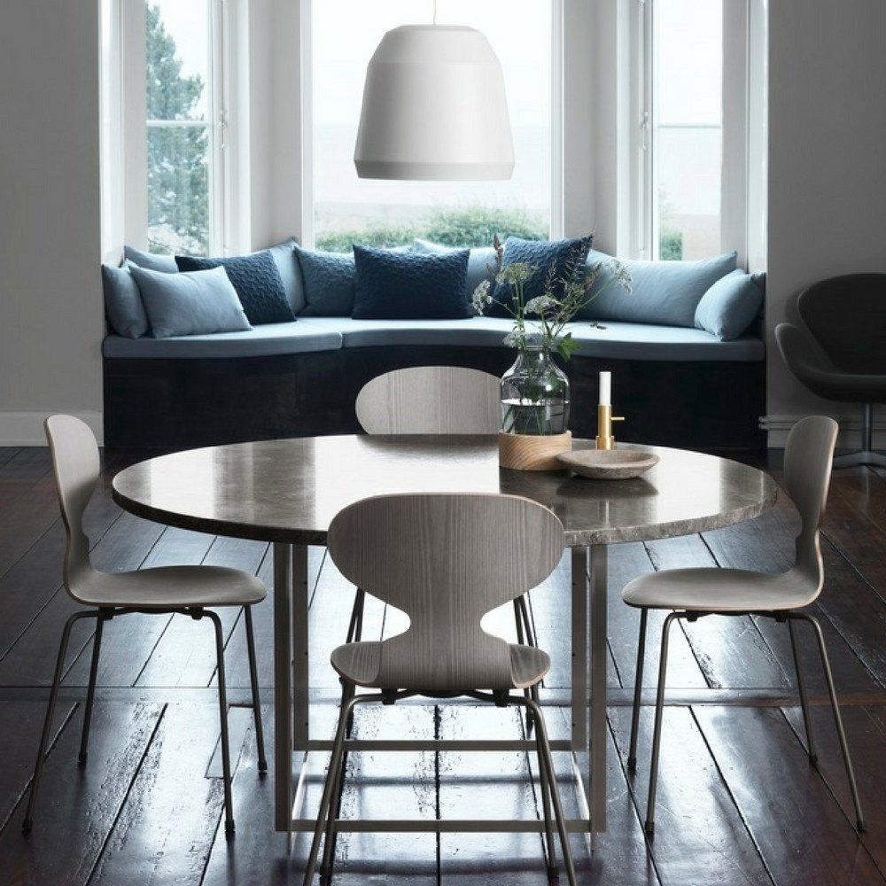 32 More Stunning Scandinavian Dining Rooms: Fritz Hansen's Choice Limited Edition Ant Chair In 2019