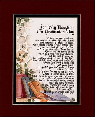 For My Daughter Quotes Graduation