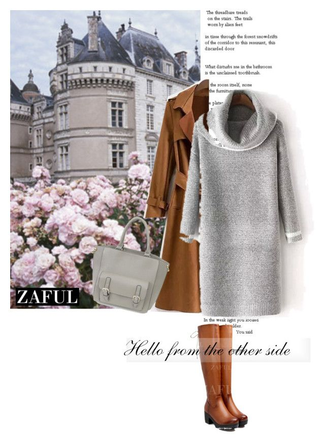 """www.zaful.com/?lkid=7493 (23)"" by nejra-l ❤ liked on Polyvore featuring women's clothing, women's fashion, women, female, woman, misses, juniors and zaful"