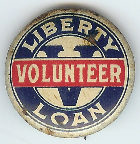 Liberty-Loan-Volunteer-V-Pin