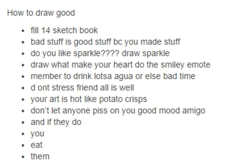how to draw good - tumblr by lmericson Sketchbook illustrations - cold cover letter sample