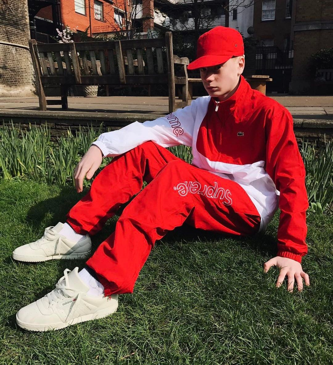 81615212ace5cb ... Supreme x Lacoste Tracksuit YEEZY Powerphase Calabasas discount sale  442ee ca3a6  BRIAN SEE ...