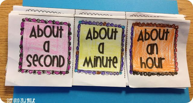 Step into 2nd Grade with Mrs. Lemons: It's ALL About Time ...