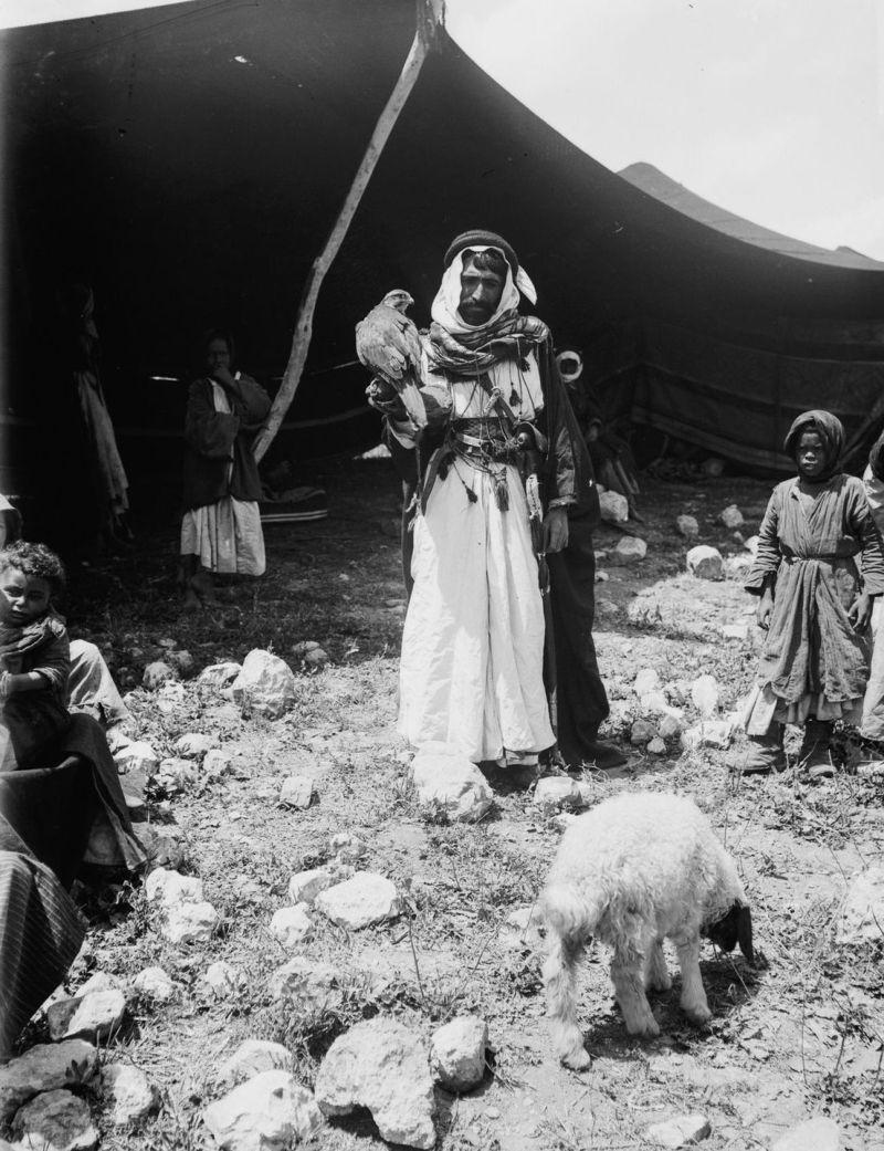 Пустынные кочевники Среднего Востока - архивные фото 1898 года