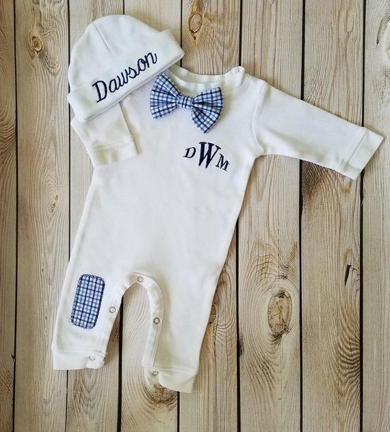 6f6056d58 Baby Boy Coming Home Outfit