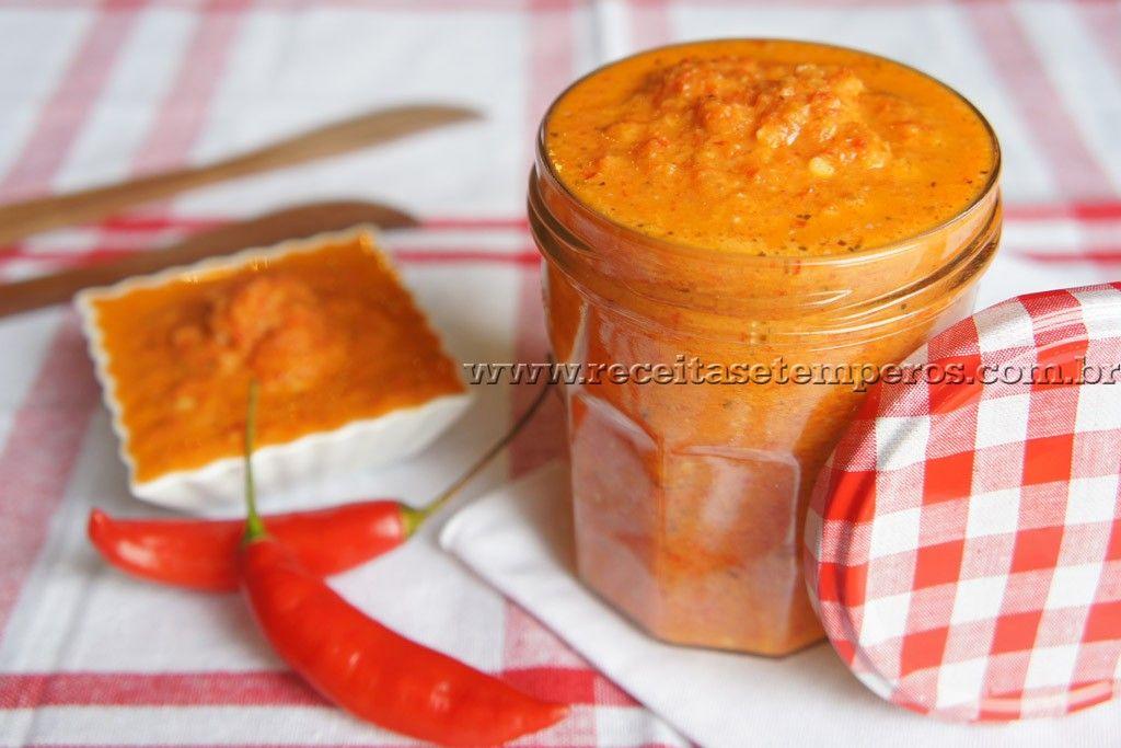 Molho de pimenta | Receitas e Temperos