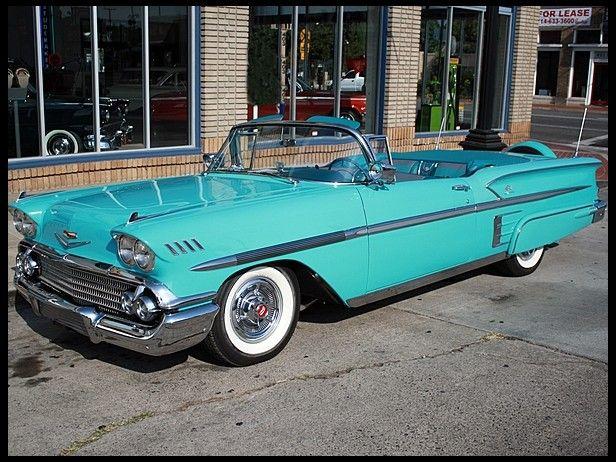 1958 Chevrolet Impala Convertible | S191 | Anaheim 2013 | Mecum Auctions