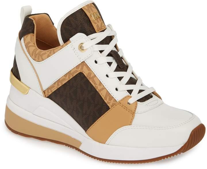MICHAEL Michael Kors Georgie Wedge Sneaker | Products in