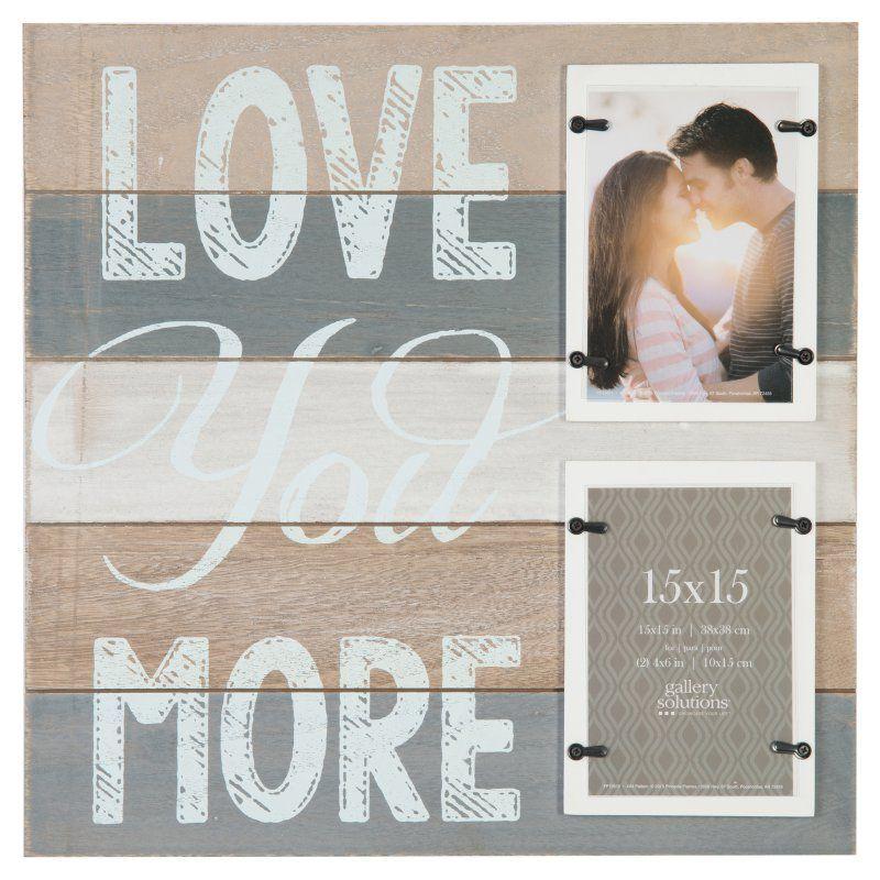 Nielsen Bainbridge Love You More Wall Picture Frame - 15FW1359E ...
