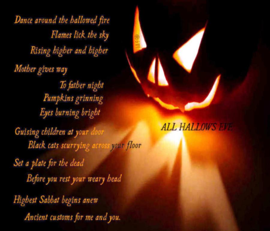 All Hallows Eve Samhain Happy New Year Hallows Eve Samhain Modern Halloween