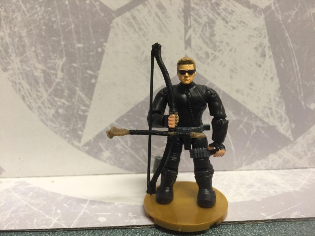Hawkeye (Mega Bloks) Custom Miniature / Figurine | LEGO and