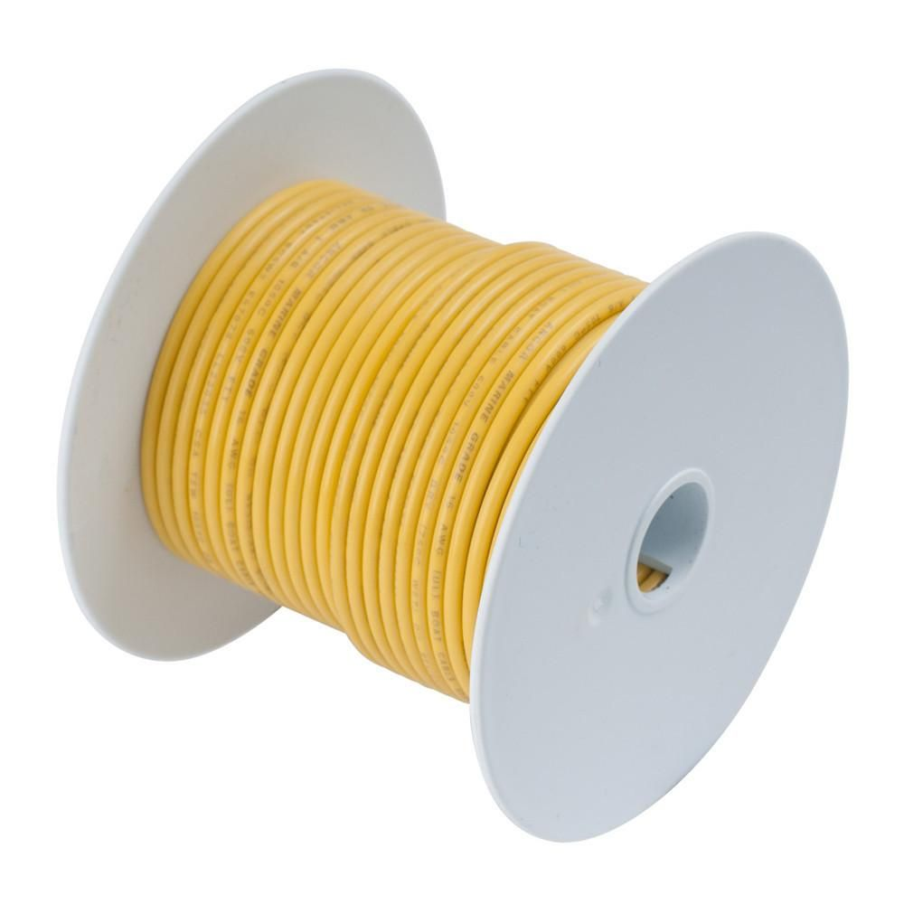 Ancor yellow 8 awg battery cable 100 tin electrical