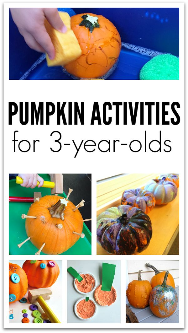 Pumpkin Crafts And Activities For 3 Year Olds Activities
