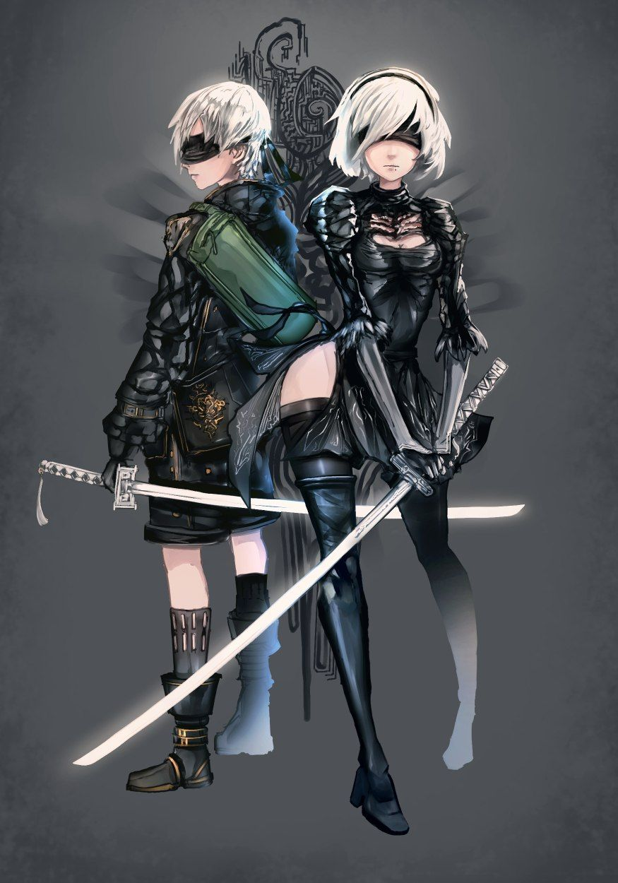 Premise Indicator Words: NieR: Automata 2B 9S