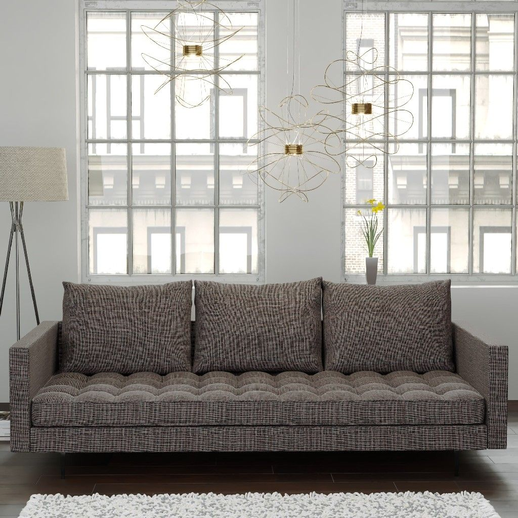 Best Granville Sofa In Beige Champaign Tweed Manhattan 400 x 300