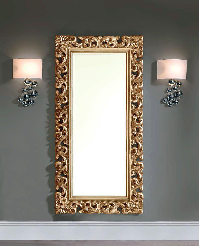 Espejo Rectangular Enmarcado 294 De21 Muebles Casanova  # Muebles Cuadrados