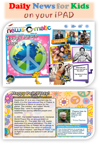 Fun And Engaging Daily News App For Kids Kids App Learning Apps