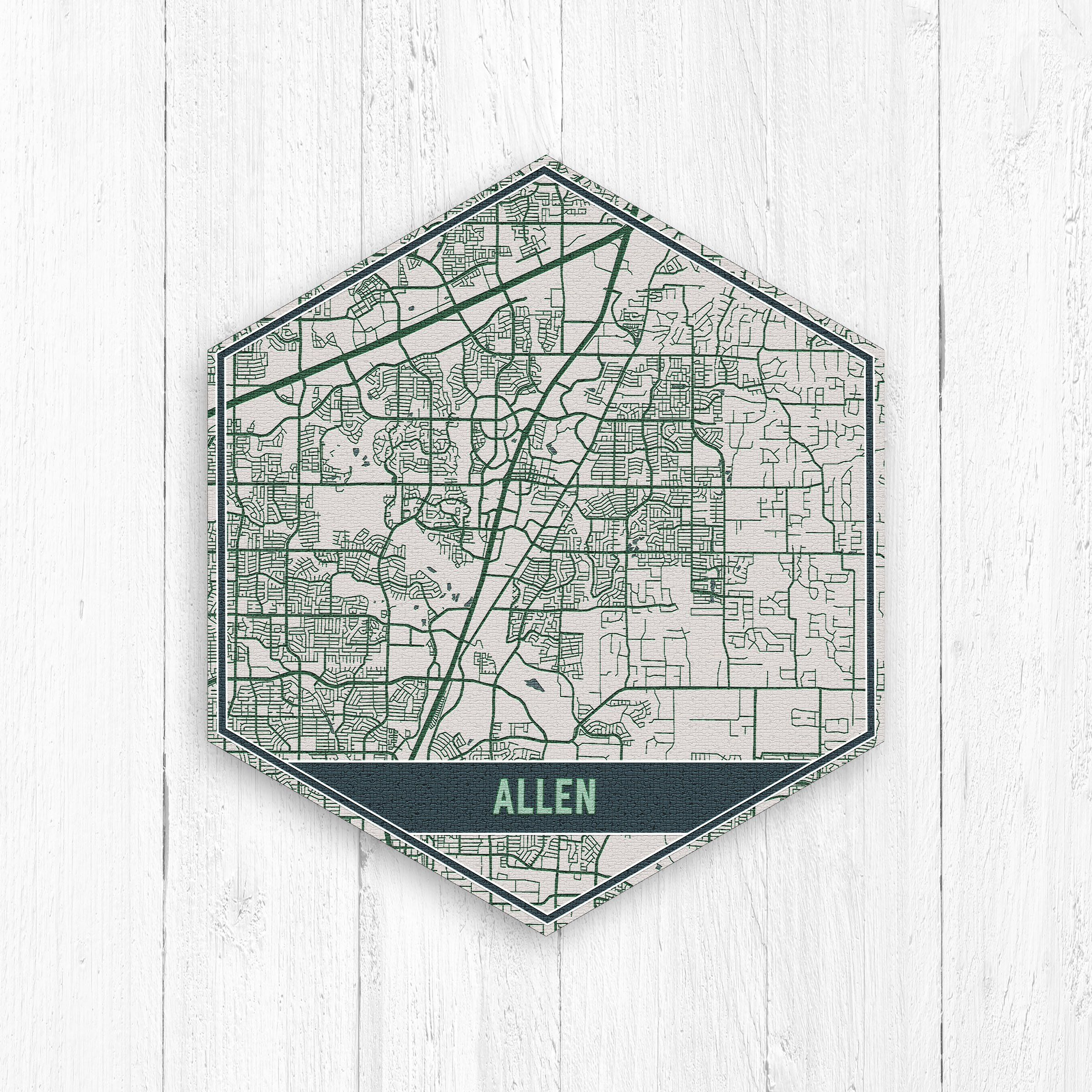 Allen Texas Street Map, Hexagon Map, Hexagon Canvas, Travel ... on map of allen ok, map of frisco, map of east texas tyler, map of carlsbad ca, map of allen outlet, map of buckhead atlanta ga, map of allen texas area, map of allen texas zip code, map of fayetteville ar, map texas tx, map of greeley co, map of plano, map of bridgewater nj, map of broken arrow ok, map of las cruces nm, map of leawood ks, map of sterling va, map of allen parkway houston,