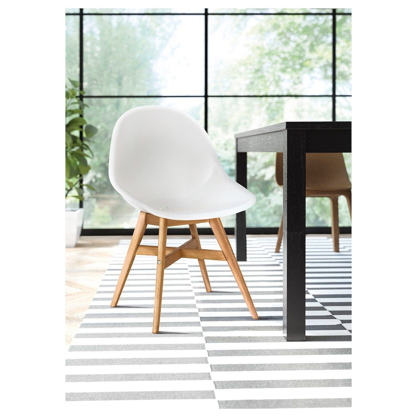 FANBYN Chair white (With images) Dining chair