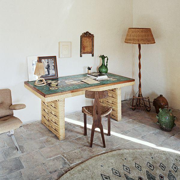 Une Ancienne Maison De Vanniers Restauree Dans Le Sud Maison Decoration Bureau Et Architecte Interieur