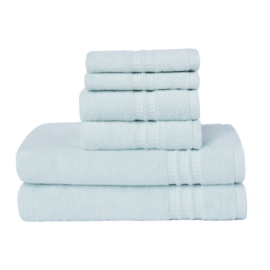 Loft By Loftex Modern Home Trends 6 Piece Bath Towel Set Towel