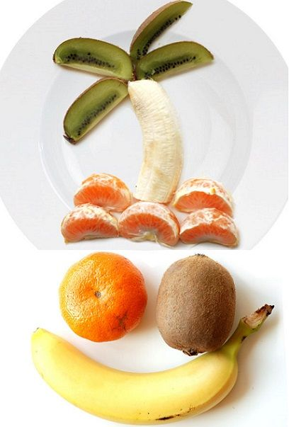 recetas de frutas para niños faciles