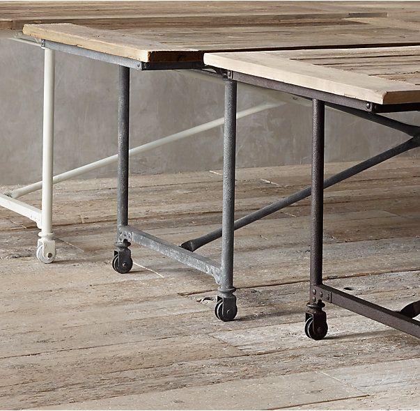 Flatiron Rectangular Dining Table Dining Table Restoration