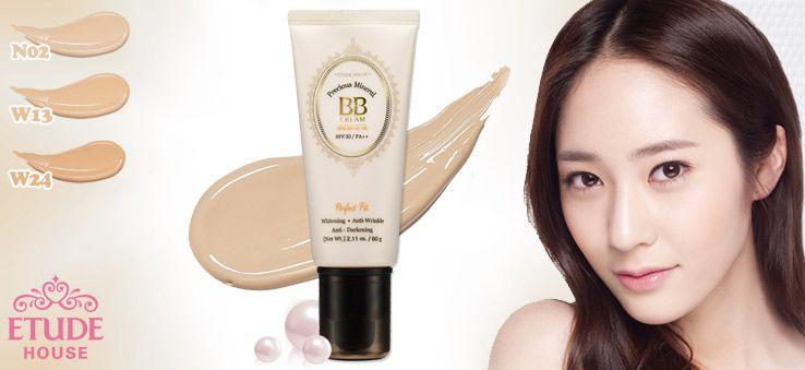 Etude House Precious Mineral Bright Fit BB Cream